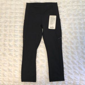 Lululemon Speed Up Crop Legging 21""